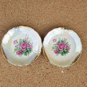 Nasco Kitchen - Vintage Floral Teacups & saucers Del Coronado